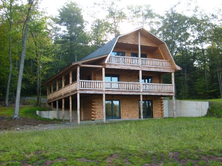Authentic Log Home In Upstate Ny Upstate New York