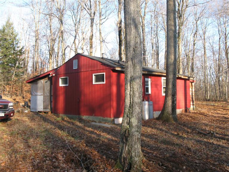 In search of the perfect hunting cabin in delaware county for Upstate new york cabin