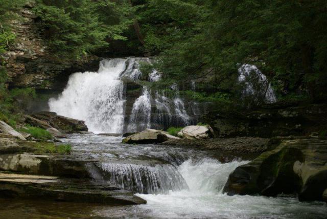 Margaretville waterfalls