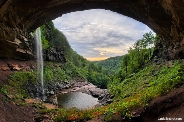 Kaaterskill Falls pool