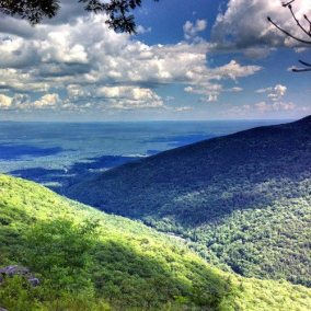 Inspiration Point in the Catskills